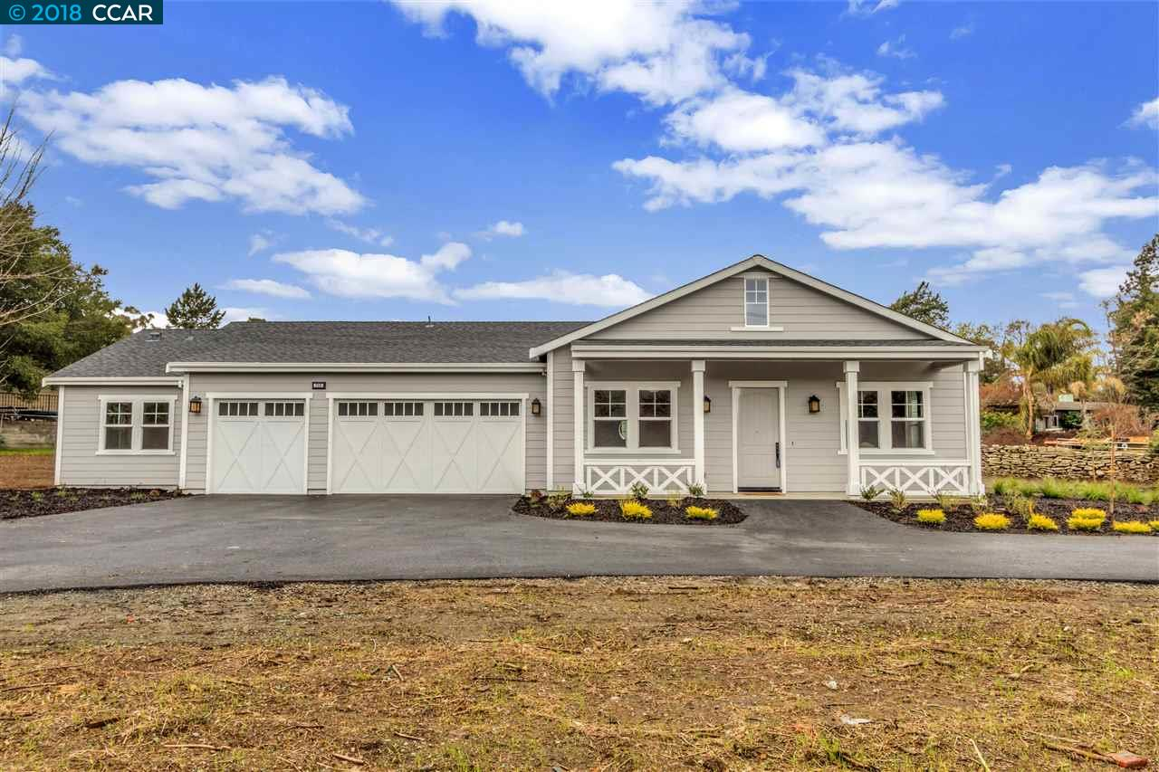 Single Family Home for Sale at 715 North Gate Road 715 North Gate Road Walnut Creek, California 94598 United States
