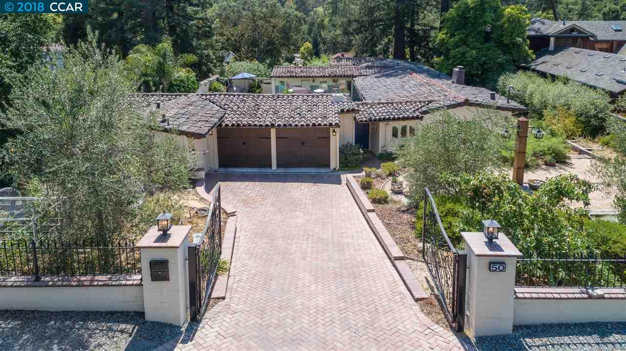 Einfamilienhaus für Mieten beim 50 Orchard Road 50 Orchard Road Orinda, Kalifornien 94563 Vereinigte Staaten
