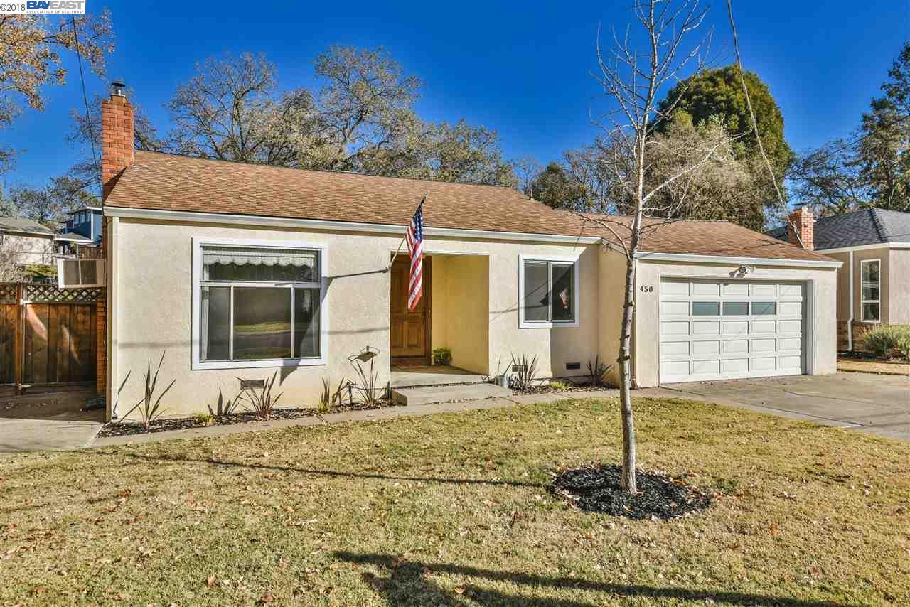 Single Family Home for Sale at 450 Amaral Circle 450 Amaral Circle Pleasanton, California 94566 United States