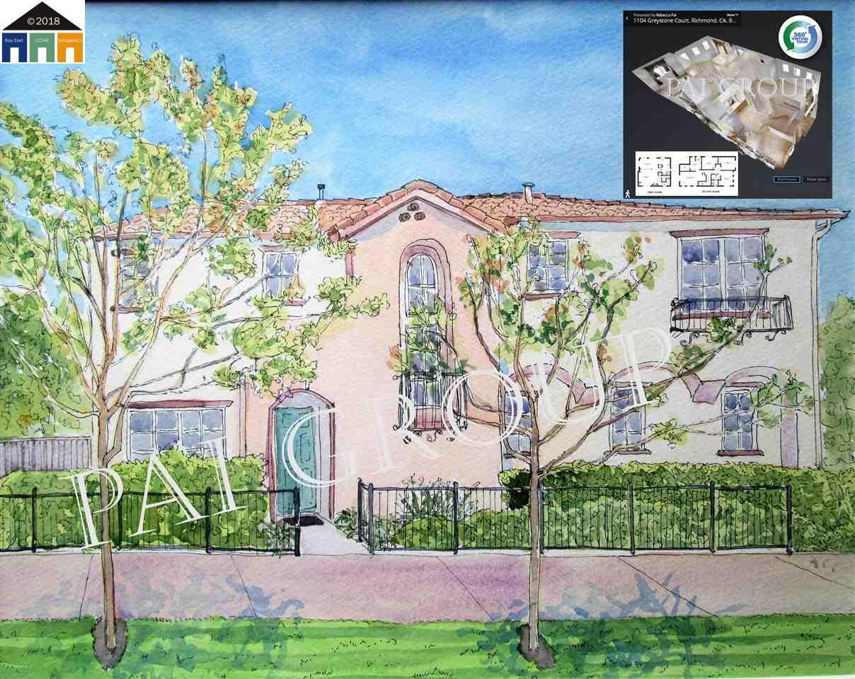 一戸建て のために 売買 アット 1104 Greystone Court 1104 Greystone Court Richmond, カリフォルニア 94806 アメリカ合衆国