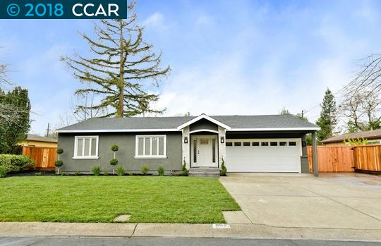 Single Family Home for Sale at 867 Audrey Court 867 Audrey Court Pleasant Hill, California 94523 United States