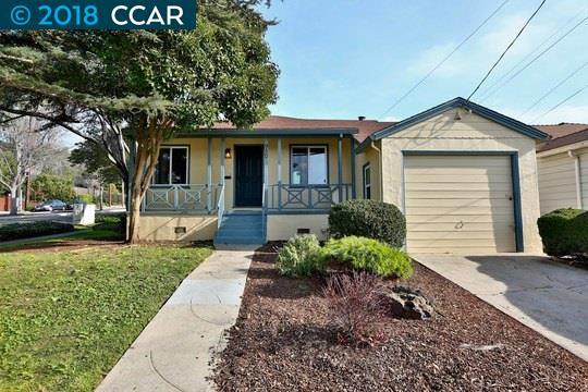 Maison unifamiliale pour l Vente à 950 Everett Street 950 Everett Street El Cerrito, Californie 94530 États-Unis