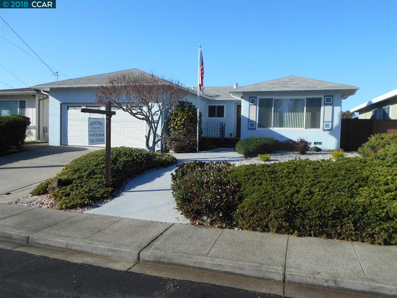 Single Family Home for Sale at 2642 Alice Way 2642 Alice Way Pinole, California 94564 United States