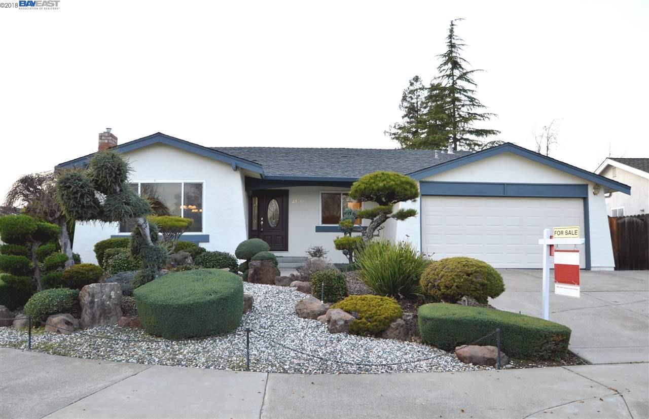 Single Family Home for Sale at 4170 Denker Drive 4170 Denker Drive Pleasanton, California 94588 United States