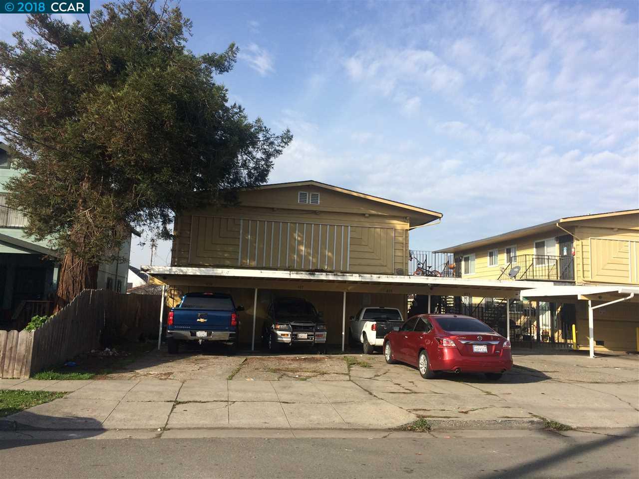 Casa Multifamiliar por un Venta en 433 S 26th Street 433 S 26th Street Richmond, California 94804 Estados Unidos