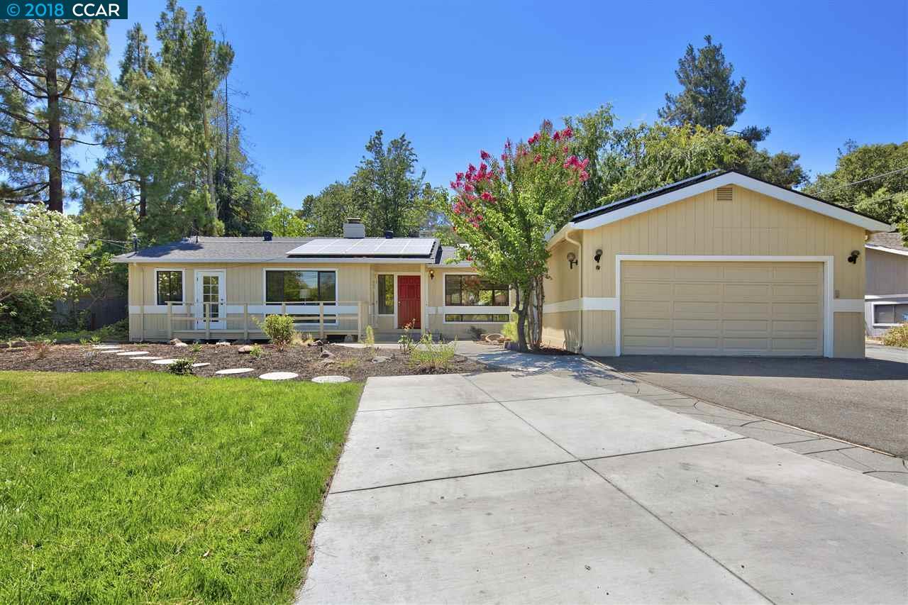 一戸建て のために 売買 アット 1503 Huston Road 1503 Huston Road Lafayette, カリフォルニア 94549 アメリカ合衆国