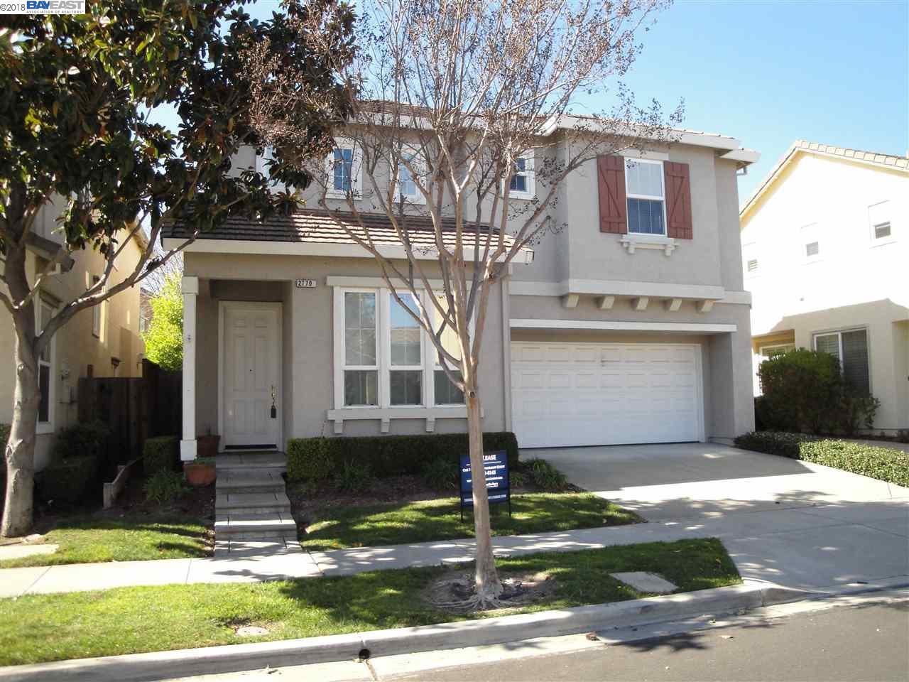 獨棟家庭住宅 為 出租 在 2770 Curry Street 2770 Curry Street Pleasanton, 加利福尼亞州 94588 美國