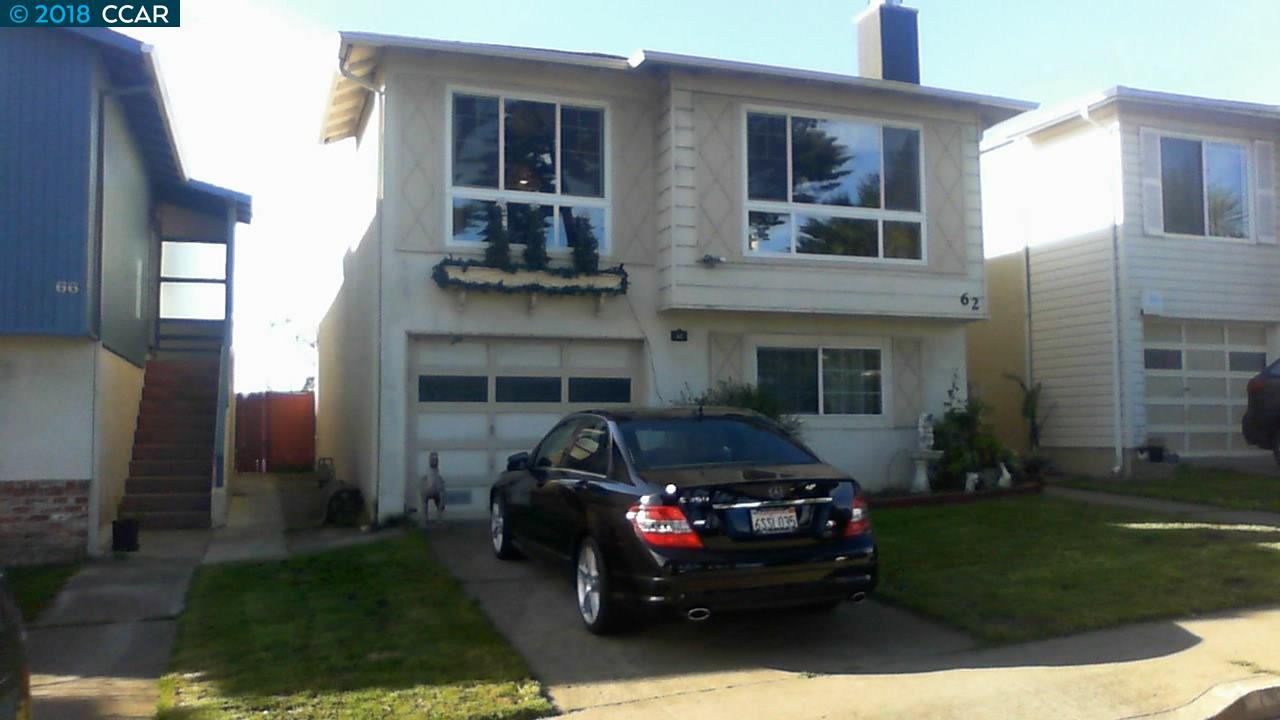 Частный односемейный дом для того Продажа на 62 EDGEMONT DRIVE 62 EDGEMONT DRIVE Daly City, Калифорния 94015 Соединенные Штаты