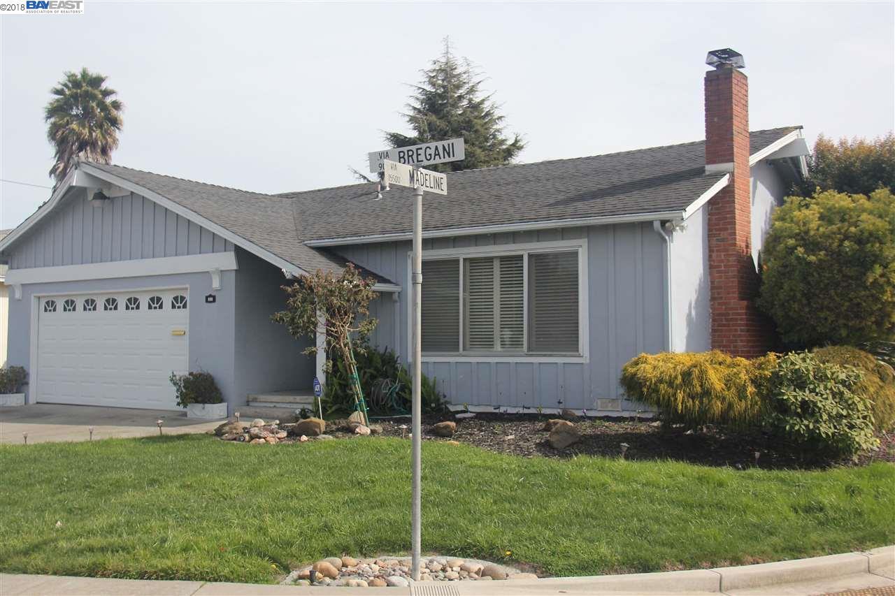 Частный односемейный дом для того Продажа на 998 Via Bregani 998 Via Bregani San Lorenzo, Калифорния 94580 Соединенные Штаты