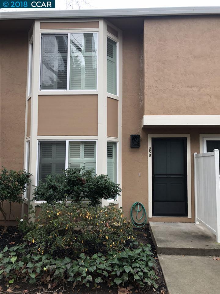 コンドミニアム のために 売買 アット 559 Sycamore Circle 559 Sycamore Circle Danville, カリフォルニア 94526 アメリカ合衆国
