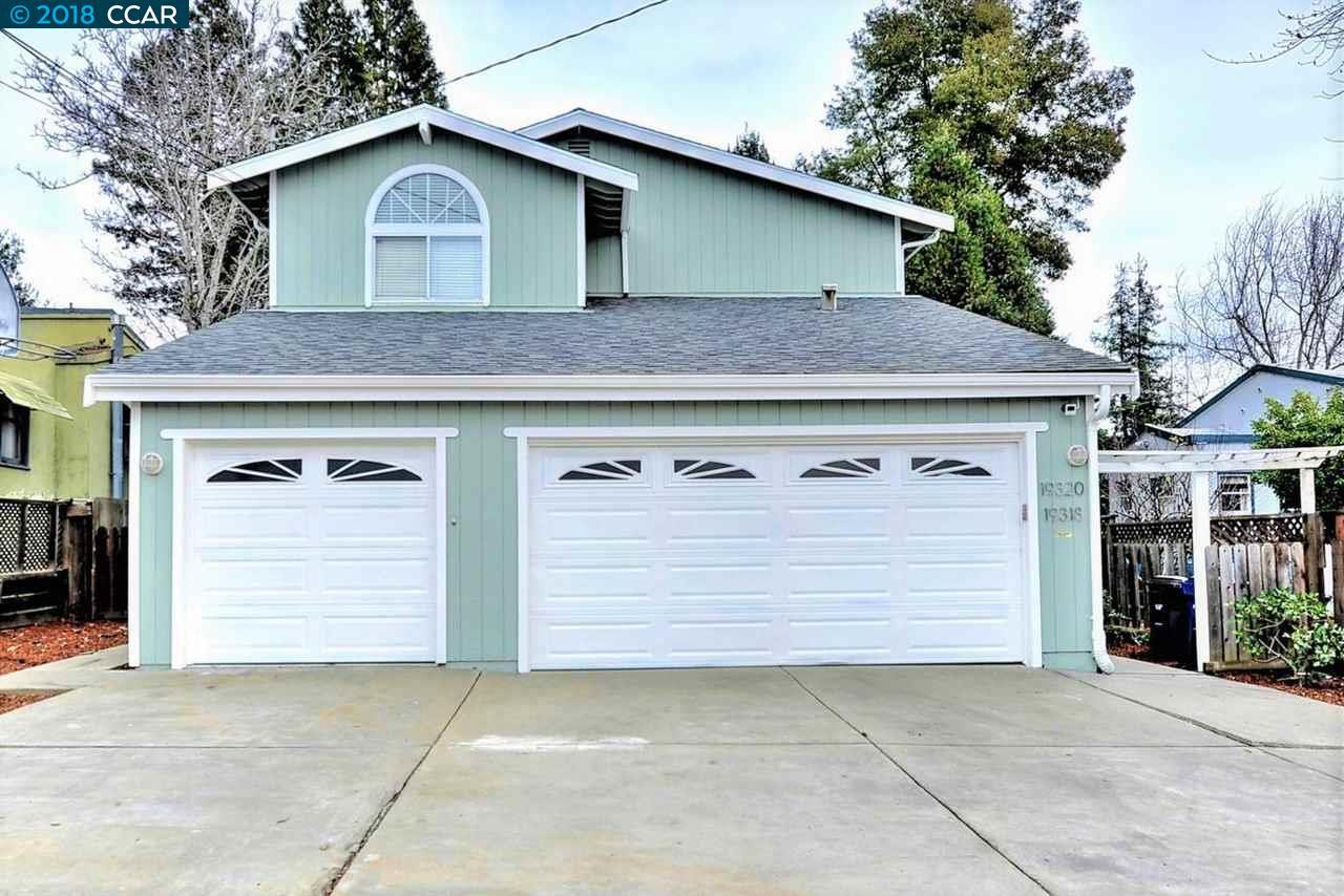 Многосемейный дом для того Продажа на 19318 Parsons Avenue 19318 Parsons Avenue Castro Valley, Калифорния 94546 Соединенные Штаты