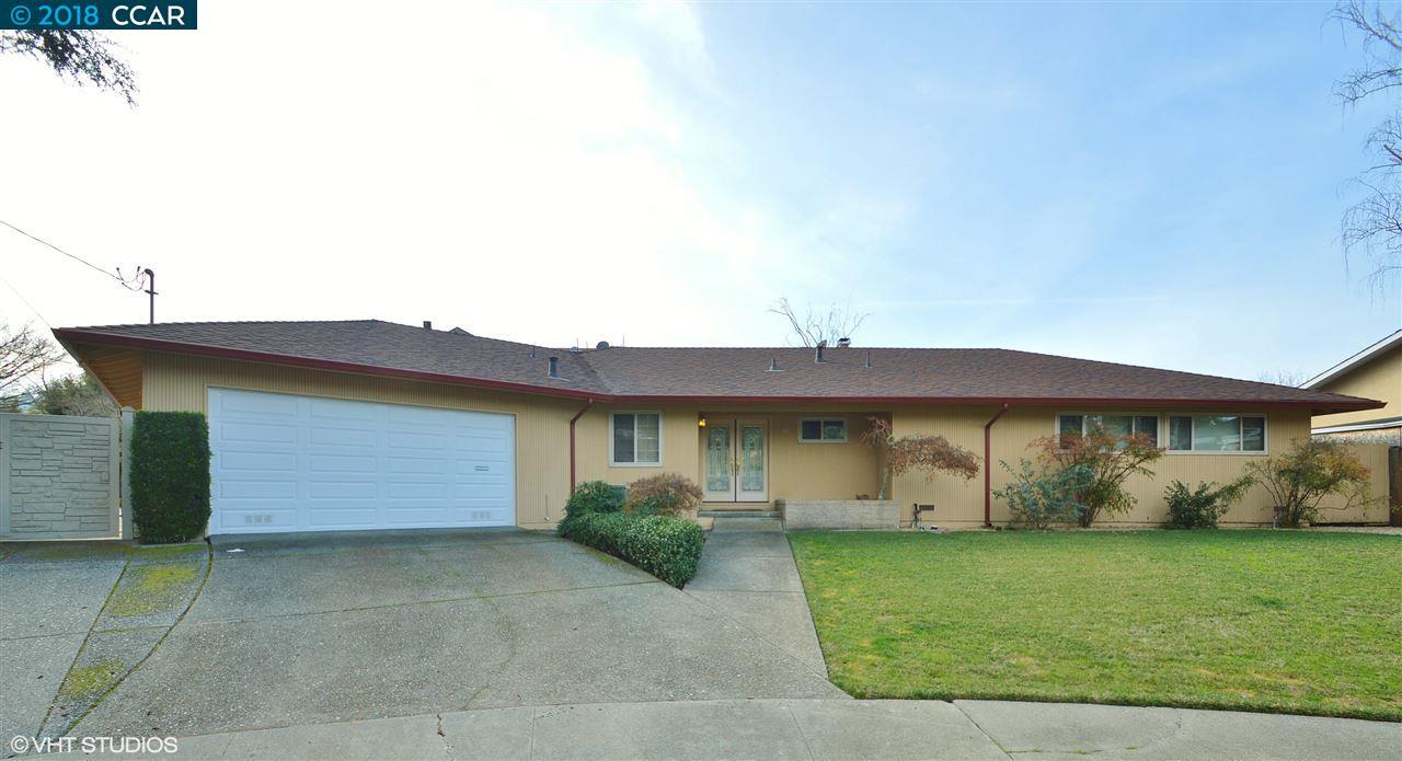 Частный односемейный дом для того Аренда на 10 Jo Lin Court 10 Jo Lin Court El Sobrante, Калифорния 94803 Соединенные Штаты
