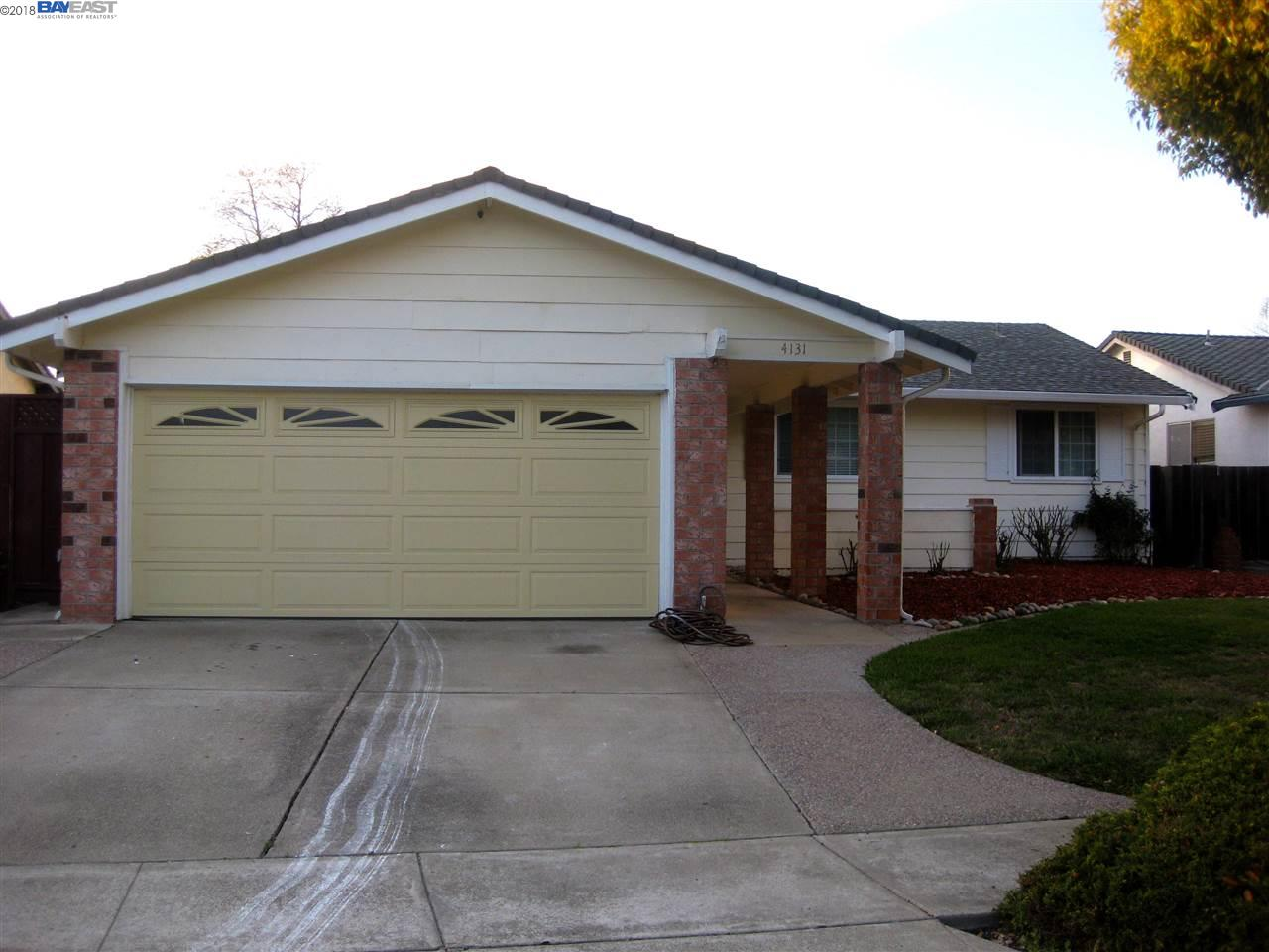 一戸建て のために 売買 アット 4131 BOYLE Drive 4131 BOYLE Drive Fremont, カリフォルニア 94536 アメリカ合衆国