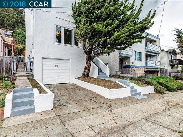 واحد منزل الأسرة للـ Sale في 542 Adams Street 542 Adams Street Albany, California 94706 United States