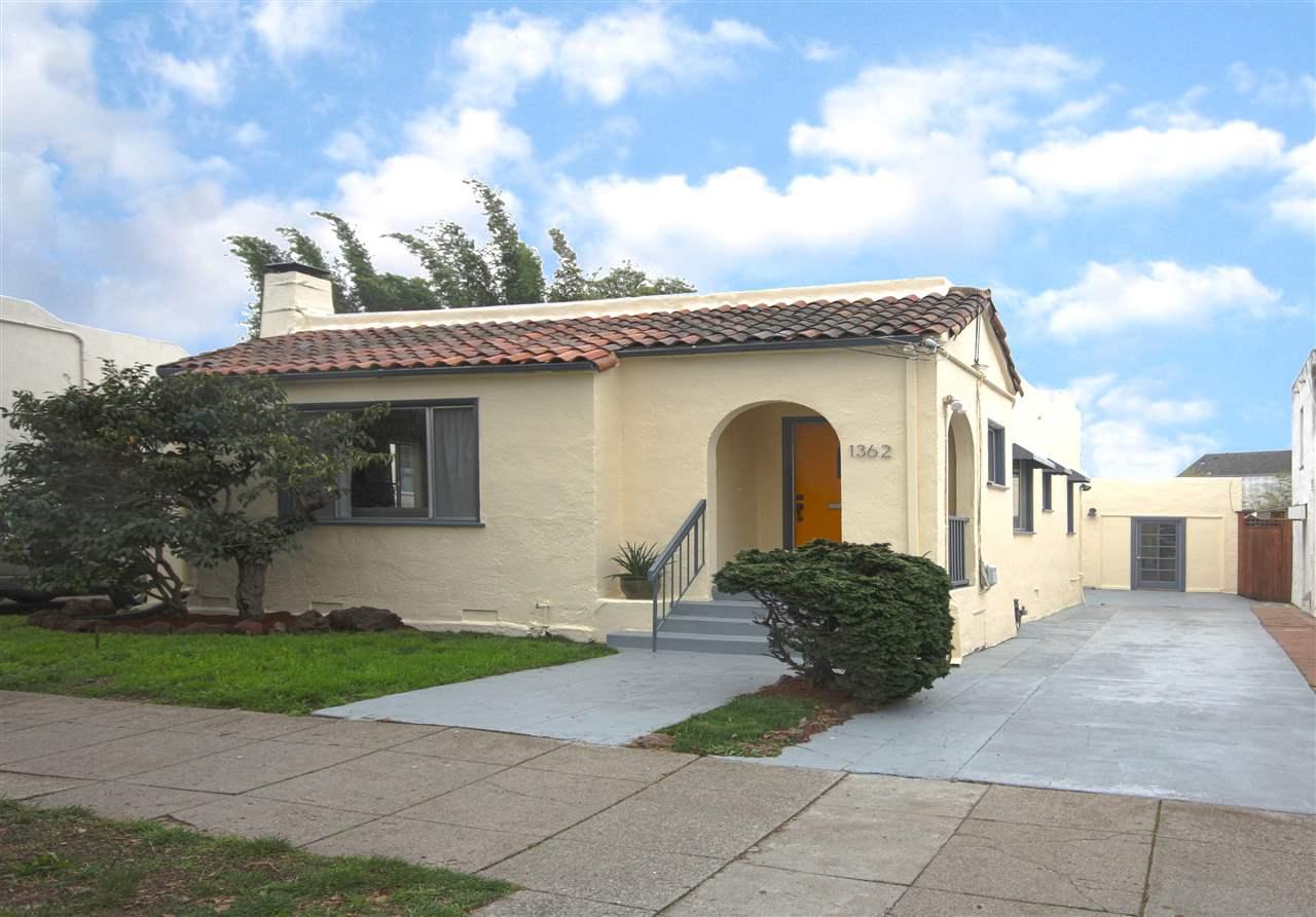 واحد منزل الأسرة للـ Sale في 1362 Marin Avenue 1362 Marin Avenue Albany, California 94706 United States