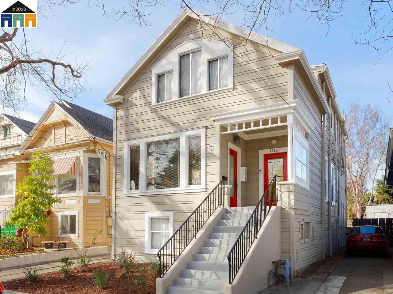 多戶家庭房屋 為 出售 在 1525 Streetanton Street 1525 Streetanton Street Alameda, 加利福尼亞州 94501 美國