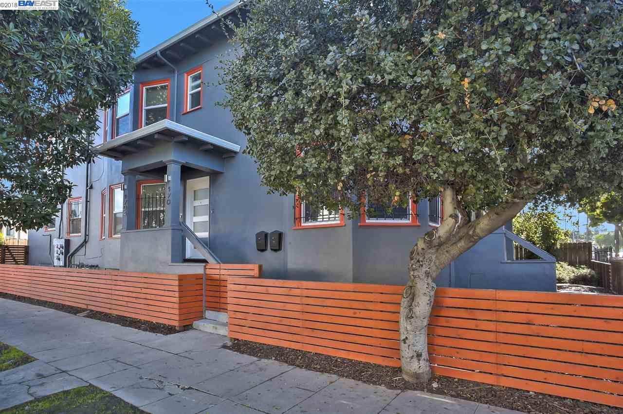 Maison avec plusieurs logements pour l Vente à 704 E 17th Street 704 E 17th Street Oakland, Californie 94606 États-Unis