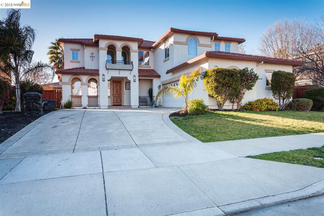 Single Family Home for Sale at 1589 Dawnview Drive 1589 Dawnview Drive Brentwood, California 94513 United States