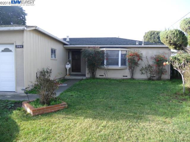 Single Family Home for Sale at 266 Newhall Street 266 Newhall Street Hayward, California 94544 United States