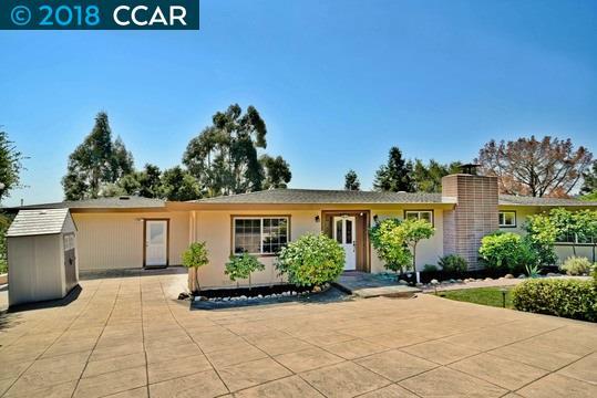 Einfamilienhaus für Mieten beim 1117 Hillcrest Drive 1117 Hillcrest Drive Lafayette, Kalifornien 94549 Vereinigte Staaten