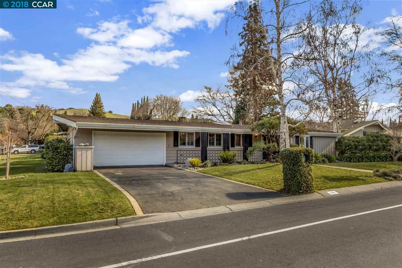 Частный односемейный дом для того Продажа на 630 Burton Drive 630 Burton Drive Lafayette, Калифорния 94549 Соединенные Штаты