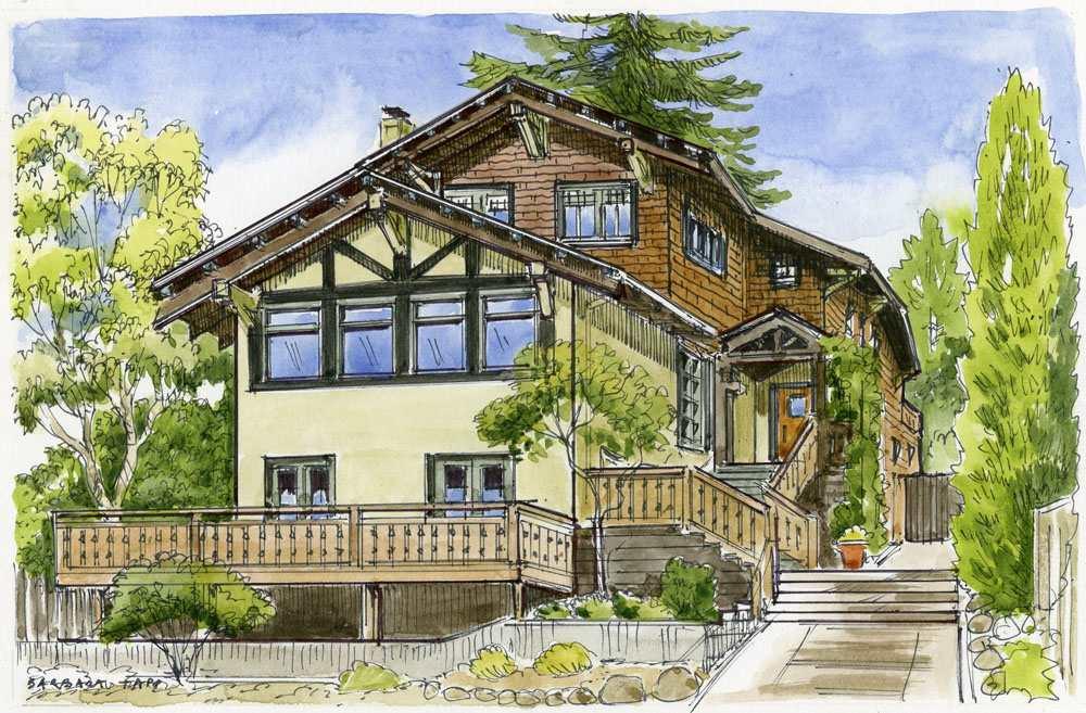 一戸建て のために 売買 アット 1309 Arch Street 1309 Arch Street Berkeley, カリフォルニア 94708 アメリカ合衆国