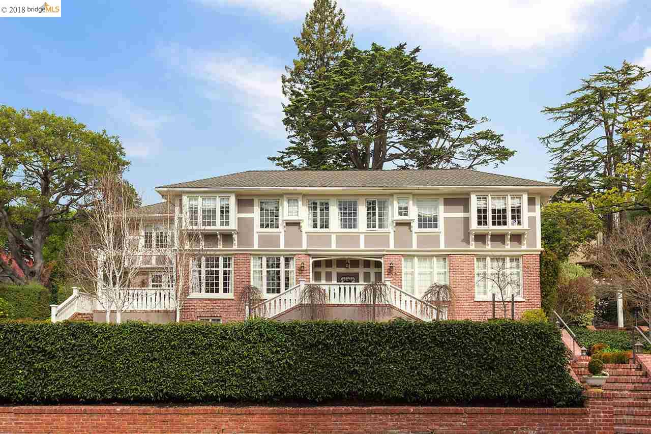 Частный односемейный дом для того Аренда на 235 Mountain Avenue 235 Mountain Avenue Piedmont, Калифорния 94611 Соединенные Штаты