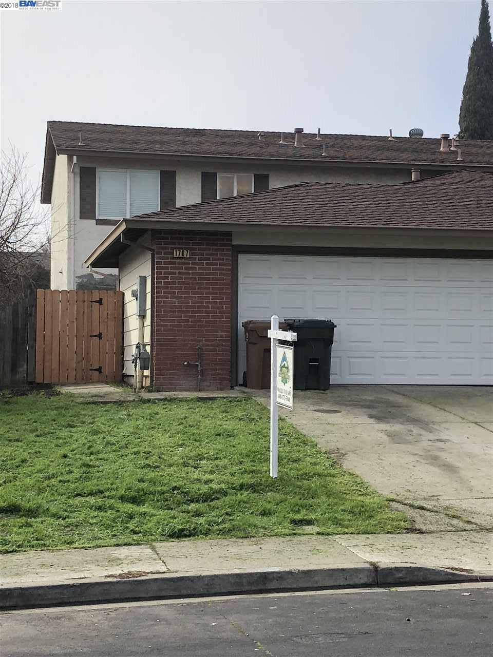 1707 Linden Way, ANTIOCH, CA 94509