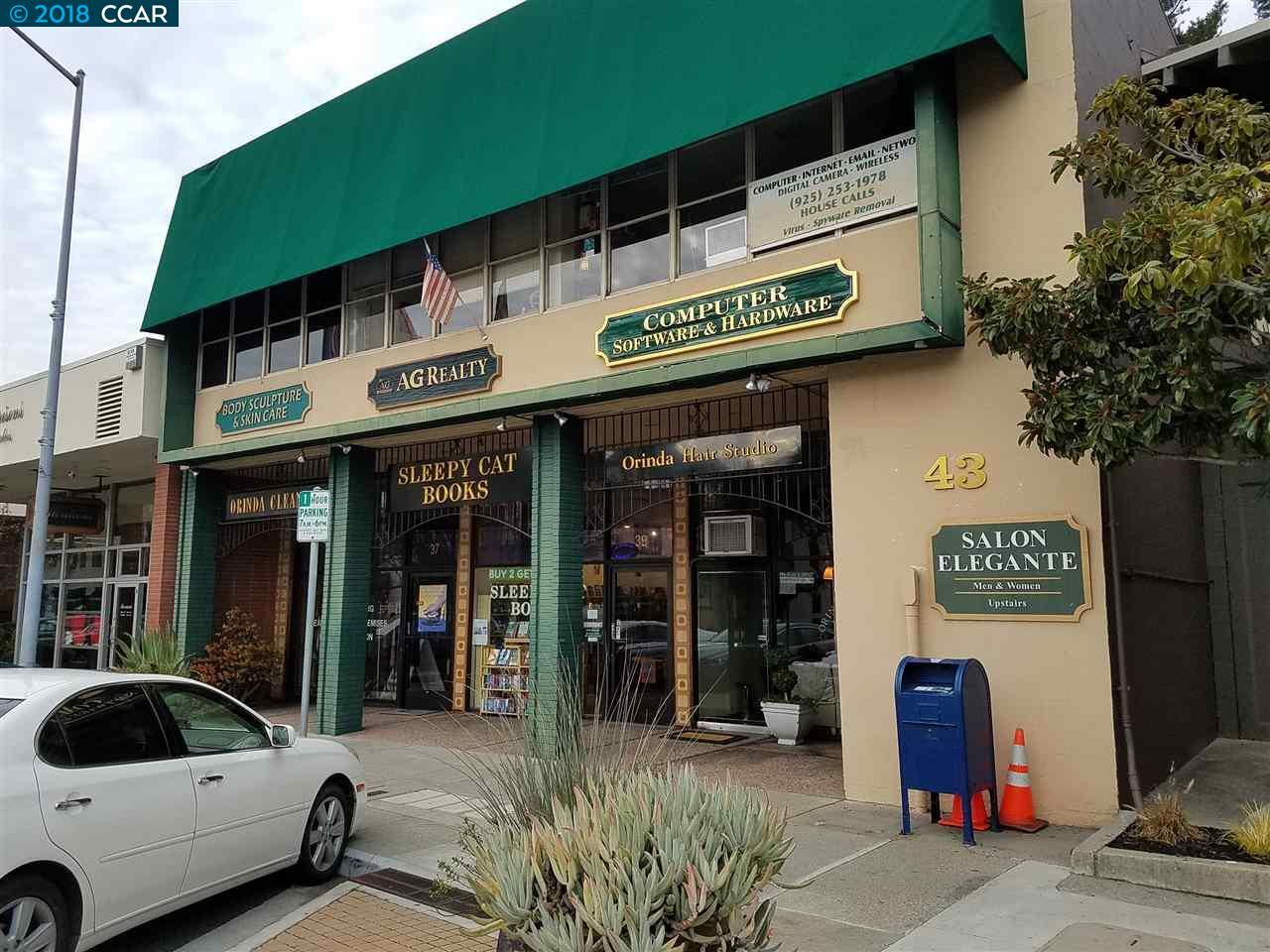 Commercial للـ Sale في 37 Moraga Way 37 Moraga Way Orinda, California 94563 United States
