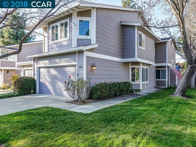 تاون هاوس للـ Sale في 490 Via Royal 490 Via Royal Walnut Creek, California 94597 United States