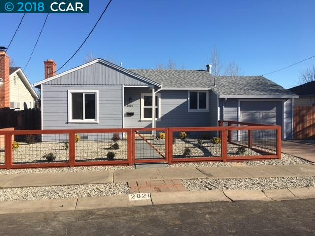Single Family Home for Rent at 2821 Crawford Street 2821 Crawford Street Concord, California 94518 United States