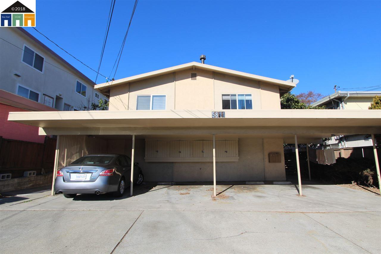 多戶家庭房屋 為 出售 在 5811 El Dorado 5811 El Dorado El Cerrito, 加利福尼亞州 94530 美國