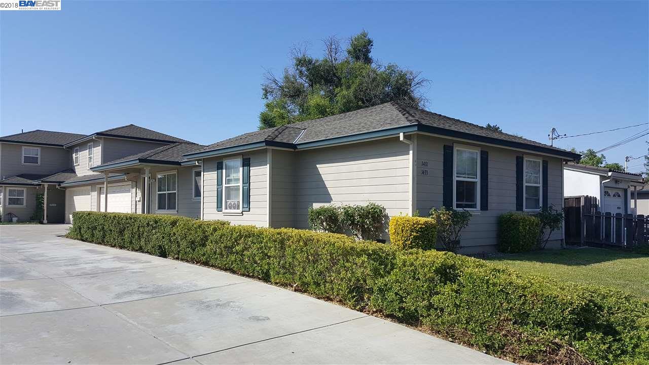 متعددة للعائلات الرئيسية للـ Sale في 1431 Locust Street 1431 Locust Street Livermore, California 94551 United States