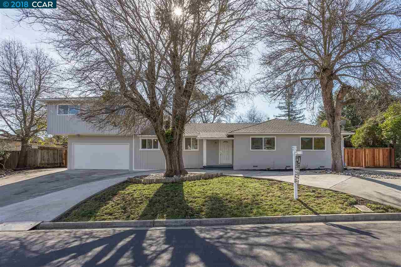 واحد منزل الأسرة للـ Sale في 719 Charlton Drive 719 Charlton Drive Pleasant Hill, California 94523 United States