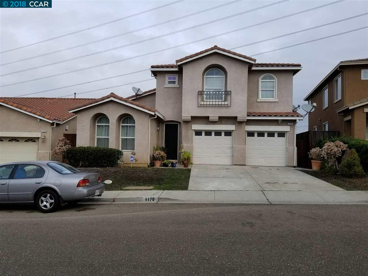 واحد منزل الأسرة للـ Sale في 1178 Santa Lucia Drive 1178 Santa Lucia Drive Pittsburg, California 94565 United States
