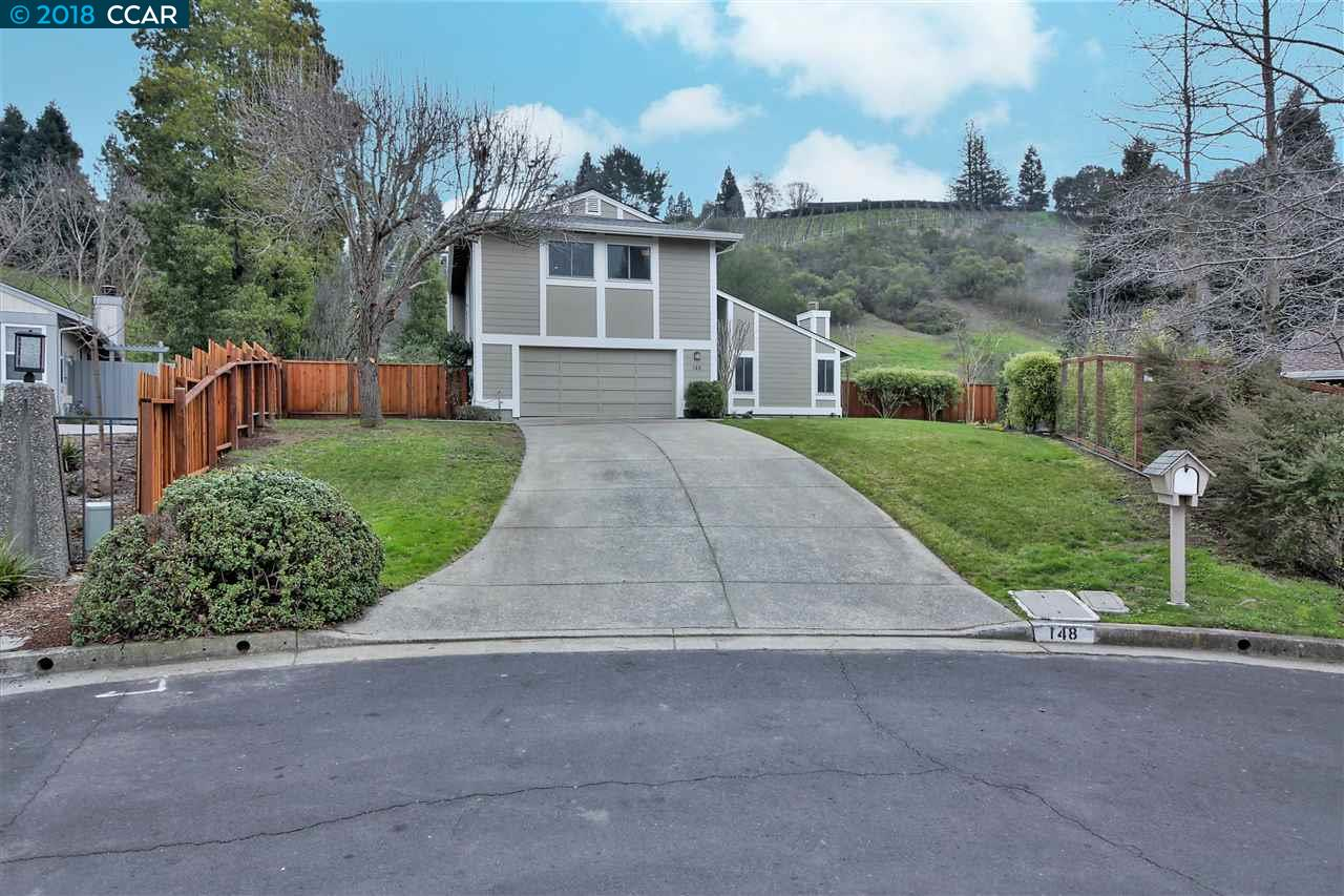 Single Family Home for Sale at 148 Donald Drive 148 Donald Drive Moraga, California 94556 United States
