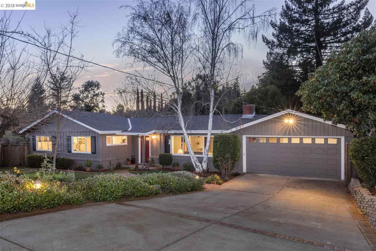 Частный односемейный дом для того Продажа на 1116 Hillcrest Drive 1116 Hillcrest Drive Lafayette, Калифорния 94549 Соединенные Штаты