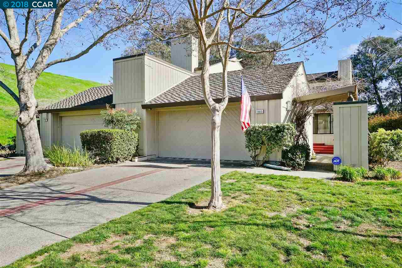 Townhouse for Sale at 1803 Lamplight Court 1803 Lamplight Court Walnut Creek, California 94597 United States