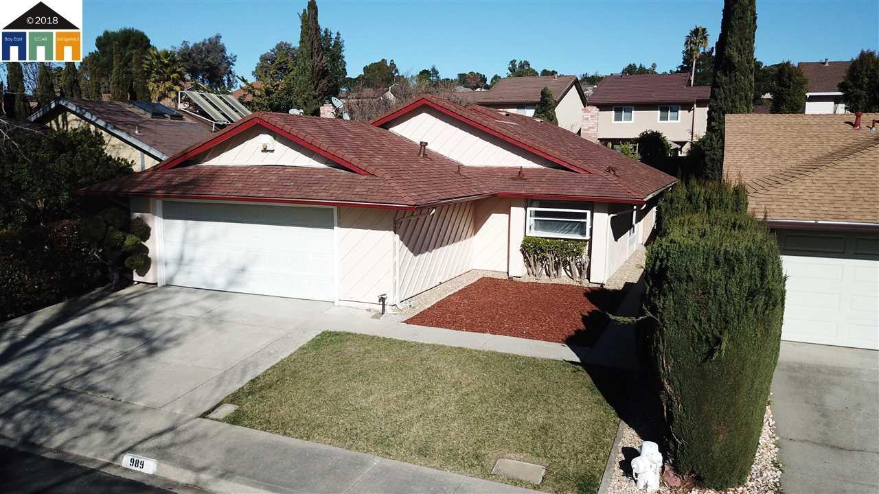 Single Family Home for Sale at 989 Coral Ridge Circle 989 Coral Ridge Circle Rodeo, California 94572 United States