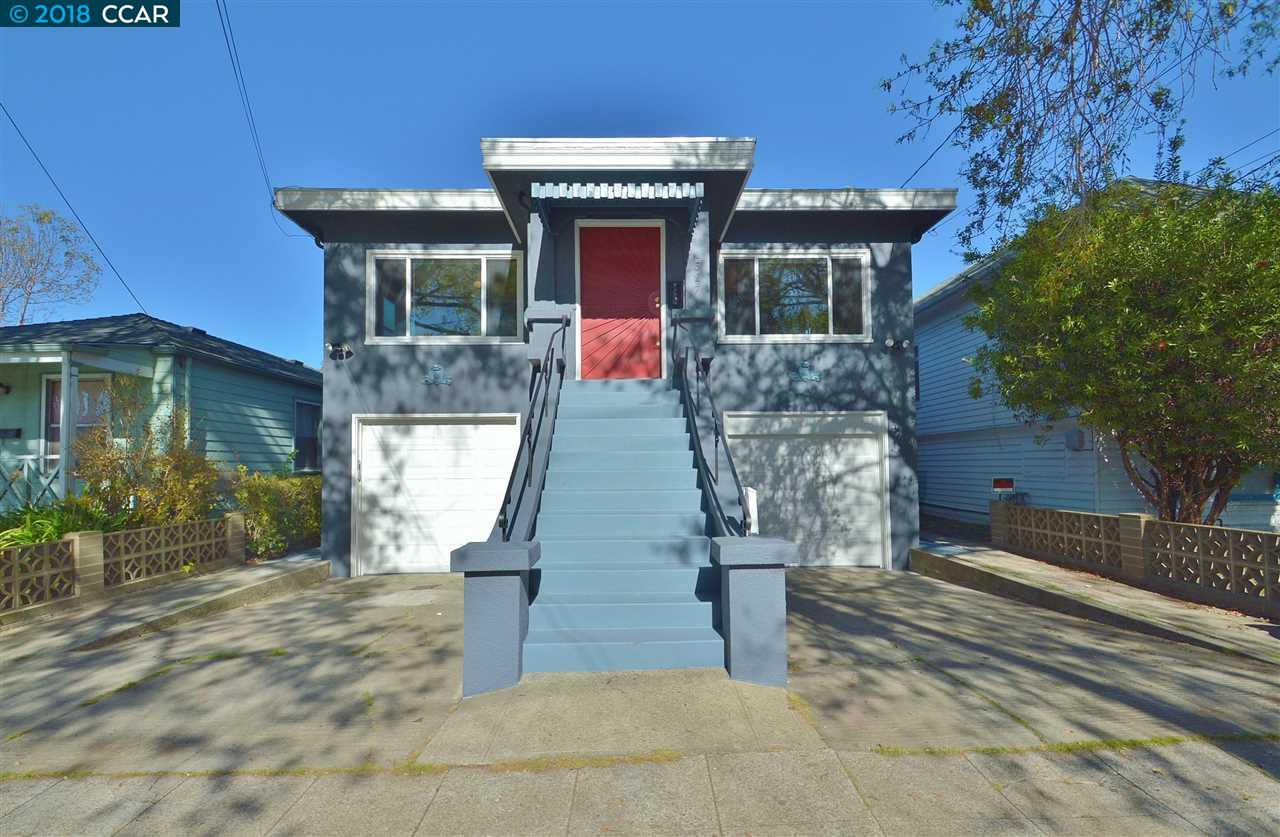 Einfamilienhaus für Verkauf beim 1527 Woolsey Street 1527 Woolsey Street Berkeley, Kalifornien 94703 Vereinigte Staaten