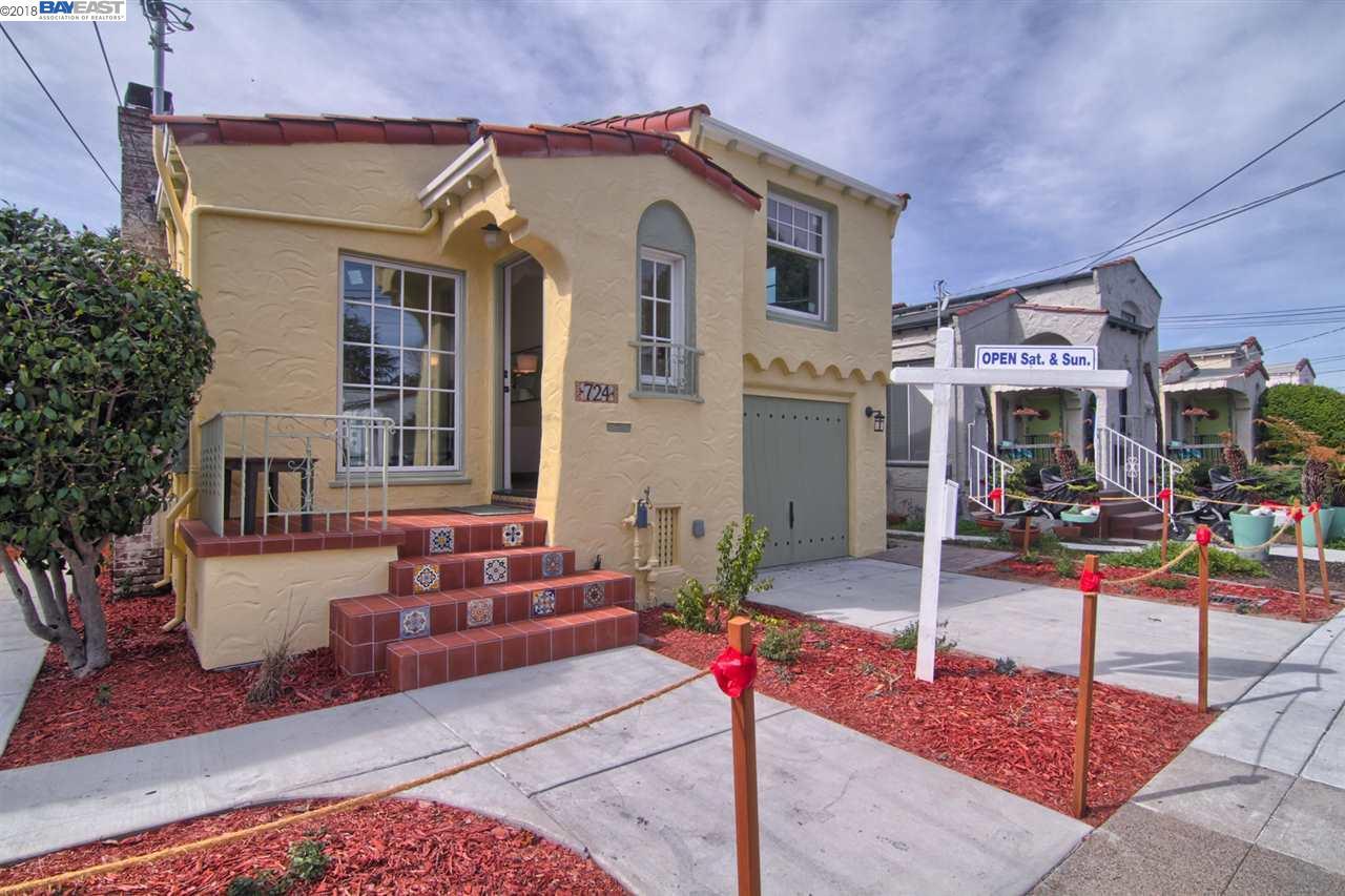واحد منزل الأسرة للـ Sale في 724 SPOKANE Avenue 724 SPOKANE Avenue Albany, California 94706 United States
