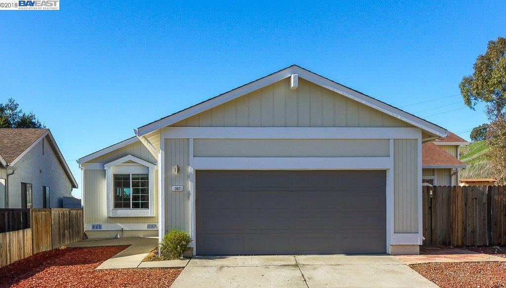 Casa Unifamiliar por un Venta en 367 Newbury Street 367 Newbury Street Hercules, California 94547 Estados Unidos