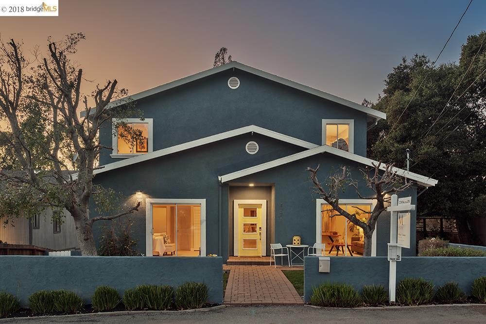 واحد منزل الأسرة للـ Sale في 4271 Knoll Avenue 4271 Knoll Avenue Oakland, California 94619 United States