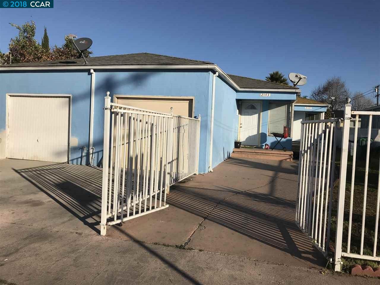 多戶家庭房屋 為 出售 在 2143 Sanford Avenue 2143 Sanford Avenue San Pablo, 加利福尼亞州 94806 美國