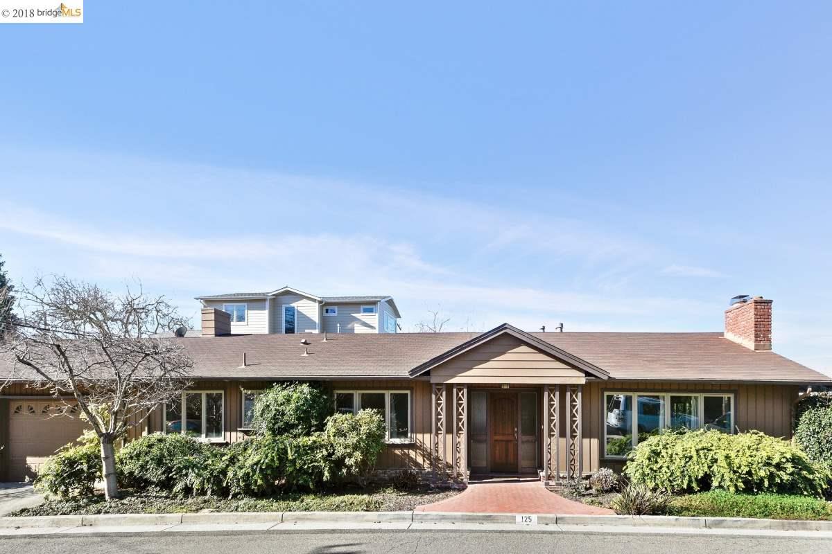 Частный односемейный дом для того Аренда на 125 Latham Street 125 Latham Street Piedmont, Калифорния 94611 Соединенные Штаты