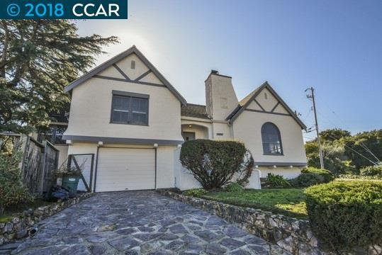 Частный односемейный дом для того Продажа на 1707 San Pablo Avenue 1707 San Pablo Avenue Pinole, Калифорния 94564 Соединенные Штаты