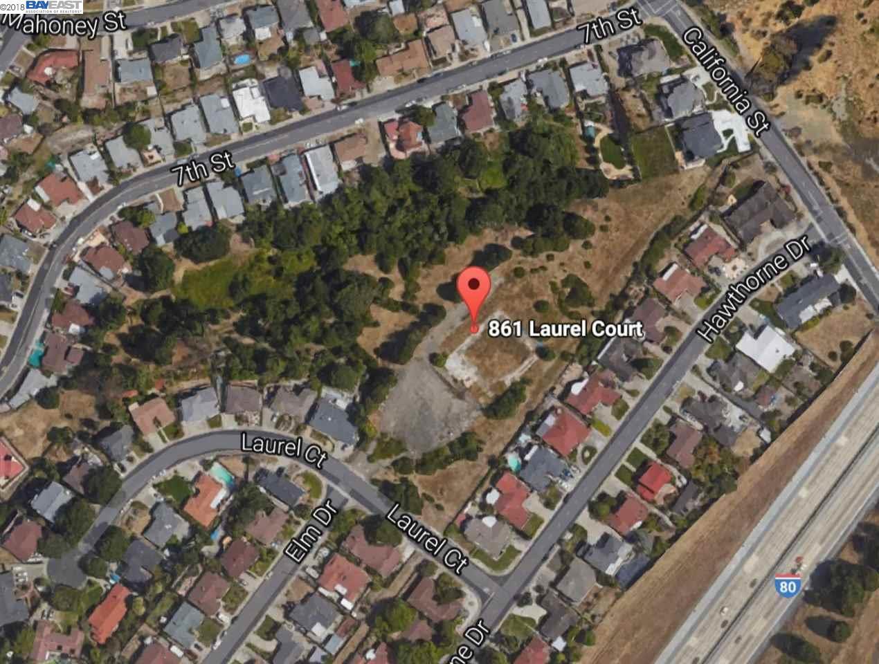 土地 為 出售 在 861 Laurel Court 861 Laurel Court Rodeo, 加利福尼亞州 94572 美國