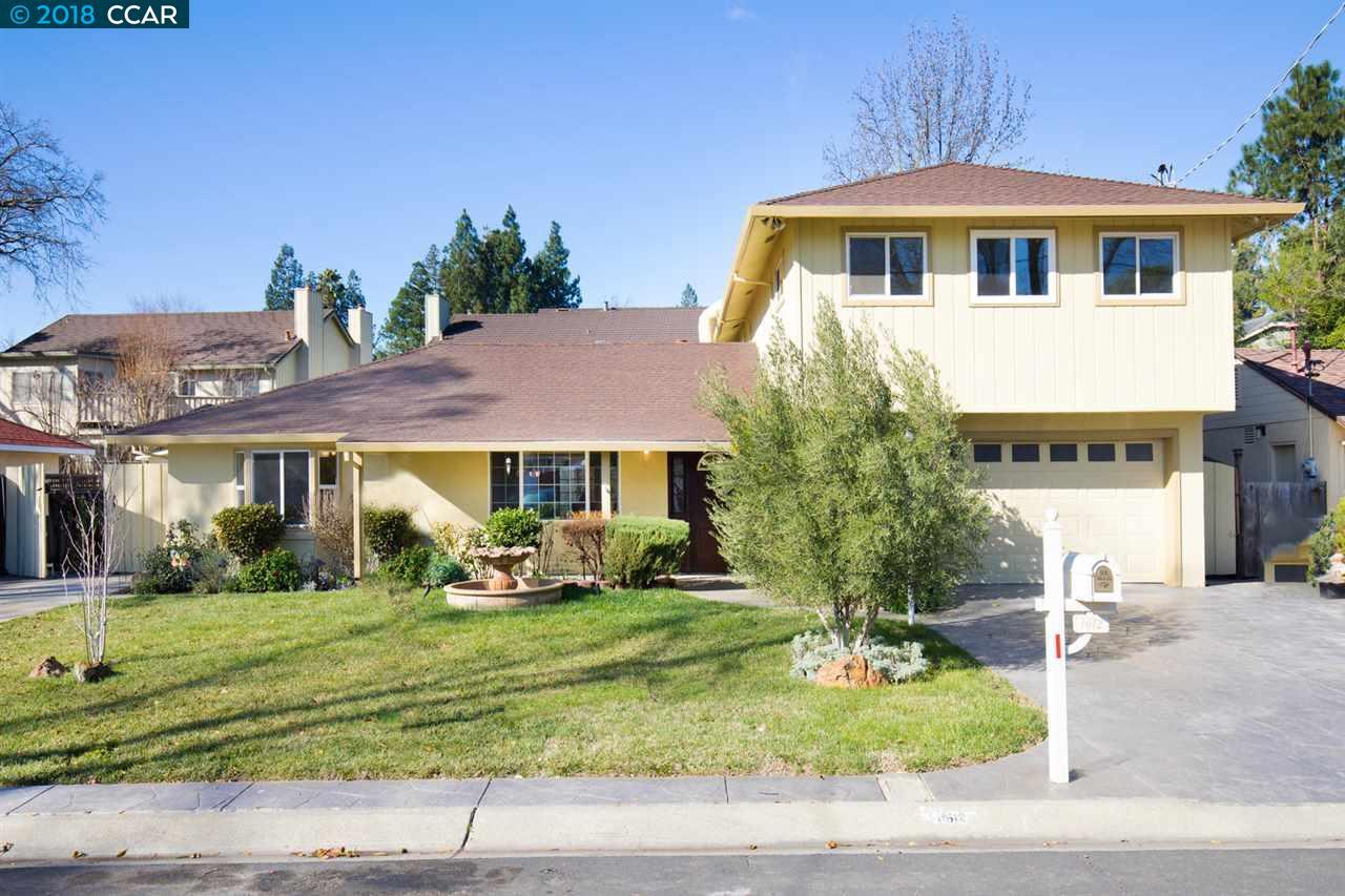 واحد منزل الأسرة للـ Sale في 1612 Merian Drive 1612 Merian Drive Pleasant Hill, California 94523 United States