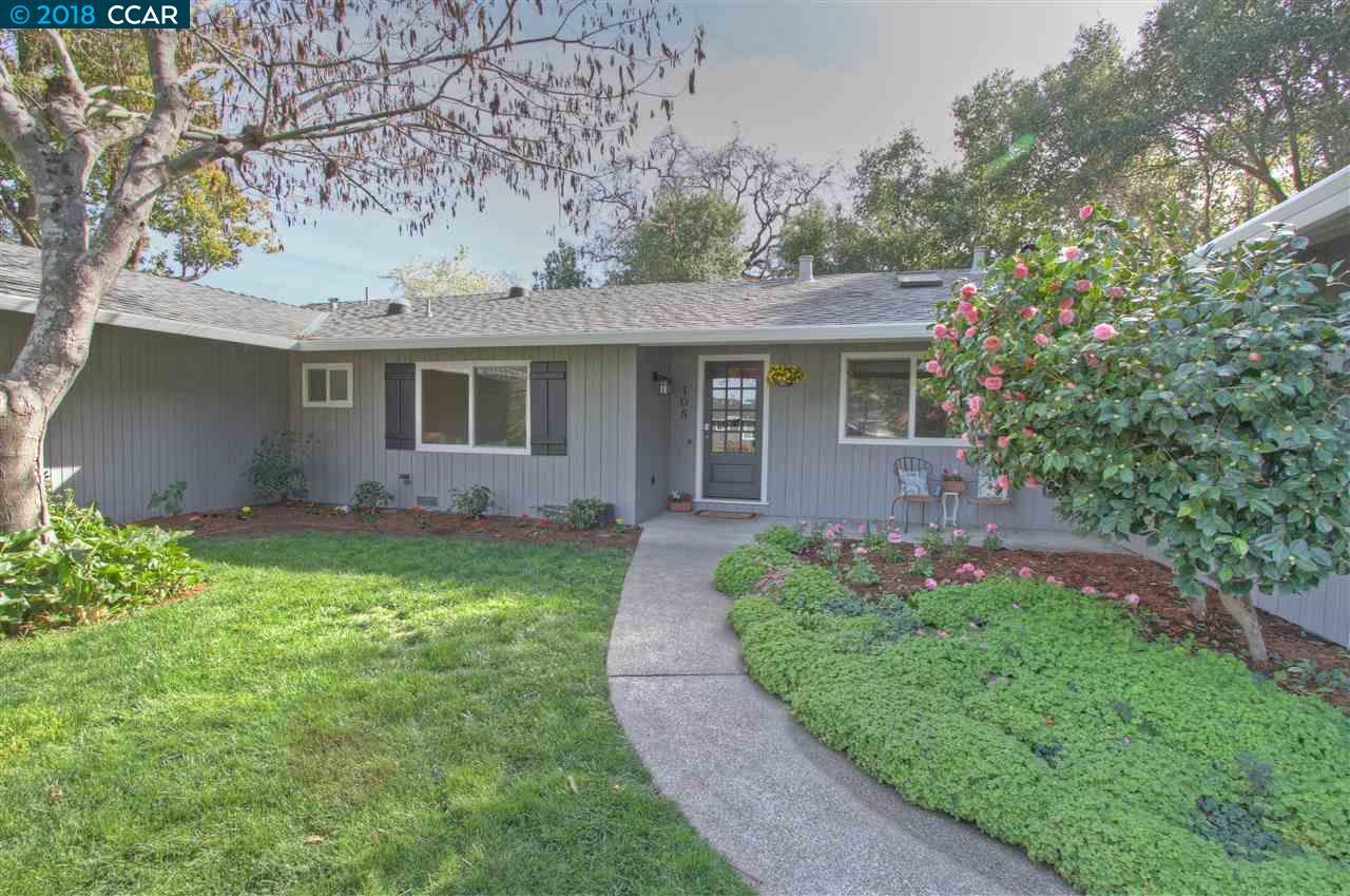 Частный односемейный дом для того Продажа на 105 Marsha Place 105 Marsha Place Lafayette, Калифорния 94549 Соединенные Штаты