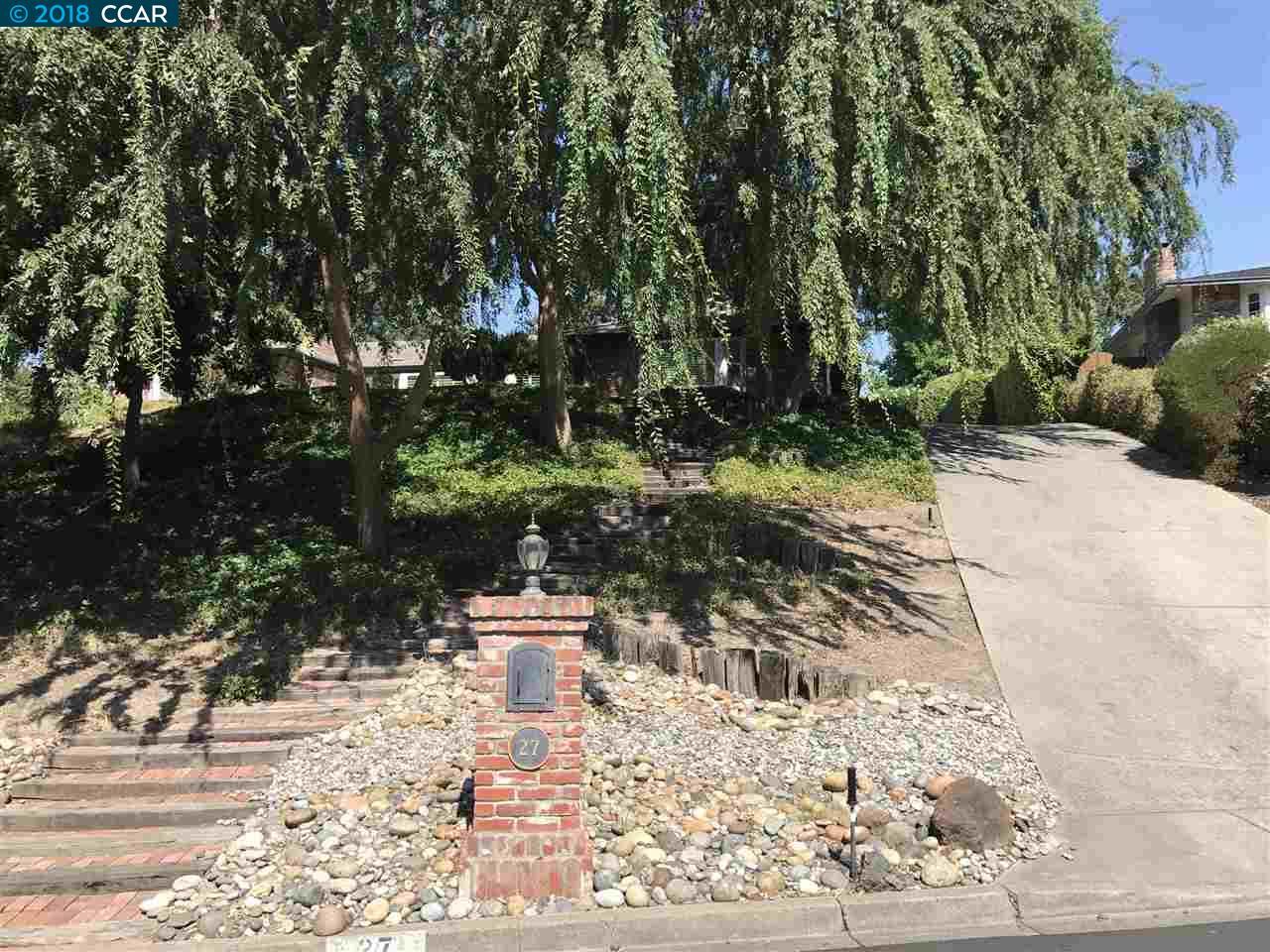 واحد منزل الأسرة للـ Rent في 27 Mott Drive 27 Mott Drive Alamo, California 94507 United States